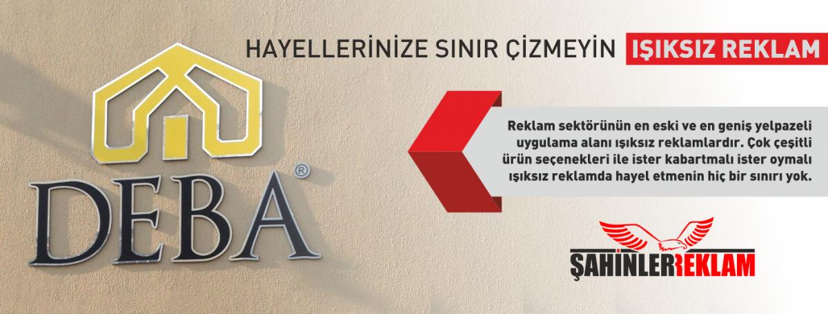 """<p><strong>İzmir Reklam Hizmet alanları<a href=""""http://www.sahinlerreklam.com/"""">Reklam</a>a dair her şey olmakla beraber;</strong></p> <blockquote>   <p><strong>Tabela</strong>, Levha; Işıklı Tabela, Işıksız Tabela, Germe Tabela, Saç Tabela, Alüminyum Oyma Tabela, Kompozit (Alikobant) - Kompozit Oyma Tabela, Pleksi Tabela, Dekota Tabela, Yön Tabelaları, Yönlendirme Tabelaları</p> </blockquote> <p><strong>Totem</strong>; Işıklı Totem, Işıksız Totem</p> <p><strong>Bilboard</strong>; Cephe (Duvar) Bilboard, Totem Bilboard, Branda Bilboard, Taşınabilir Bilboard, Dikey Bilboard</p> <p><strong>Cephe Giydirme</strong>-<strong>Duvar Kaplama</strong>; Kompozit Cephe Reklam Uygulamaları, Işıklı - Işıksız Duvar Kaplama, Branda Cephe Germe, Branda Duvar Kaplama</p> <p><strong>Araç Giydirme (Kaplama)</strong>; Folyo Araç Kaplama, Baskı Araç Kaplama, Kısmi Araç Kaplama, Komple Araç kaplama</p> <blockquote>   <p><strong>Kutu Harf, Kabartma Harf; Pleksi Kutu Harf, Krom (Crom) Kutu Harf, Strafor Köpük Kabartma Harf, Alikor Kabartma Harf, Dekota Kutu Harf</strong></p> </blockquote> <p>Tasarım hizmeti;<strong>Logo</strong>tasarım, kurumsal kimlik tasarımları, araç kaplama tasarımları, tabela tasarımları, ilan tasarımları</p> <p>Web Sitesi; Web tasarım, web programlama, Yönetim paneli, özel online uygulamalar</p> <p>Matbaa Baskı Çözümleri; Afiş Branda Baskı, Kartvizit, El ilanı, İmsakiye, Davetiye</p>"""